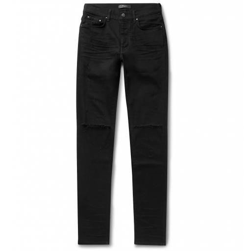Amiri Slash Skinny Jeans