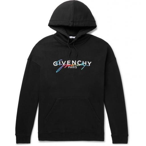 Givenchy Logo-Embroidered Hoodie