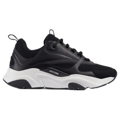 Dior B22 Sneaker Black Technical Mesh and Calfskin