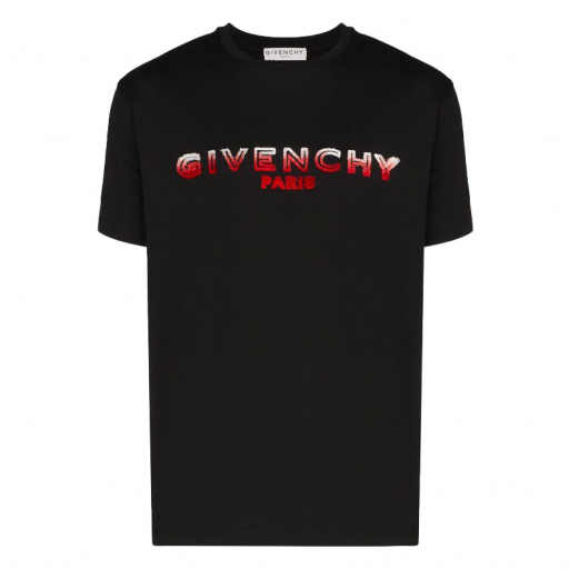Givenchy Flocked Logo Tee